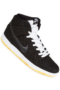 Nike SB Dunk High Pro Shoe (black black white)