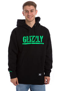 Grizzly Rough Stamp Hoodie (black)