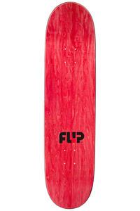 """Flip Team Odyssey Stencil 8.125"""" Deck (red black)"""