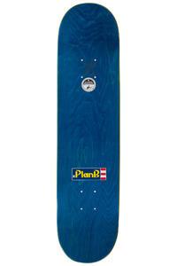 "Plan B Sheckler Snap Warlock 7.75"" Deck (blue)"