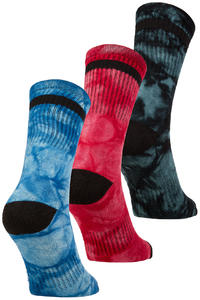 Globe All Tied Up Chaussettes US 7-11 (assorted) 3 Pack