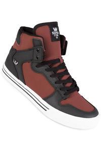 Supra Vaider Shoe (burgundy black white)