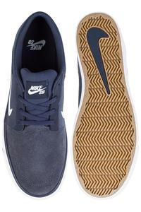 Nike SB Portmore Chaussure (midnight navy white)