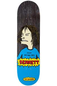 """Toy Machine Bennett Beavis 8.5"""" Planche Skate (multi)"""