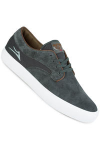 Lakai Riley Hawk Suede Shoes (charcoal)