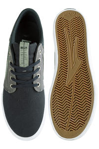 Lakai Griffin Canvas Shoe (navy grey)