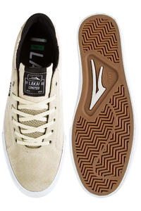Lakai Flaco Suede Shoe (cream)