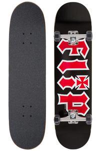 "Flip Team HKD 8"" Complete-Skateboard (black)"
