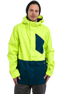 Volcom Retrospec Insulated Snowboard Jacket (tennis ball)