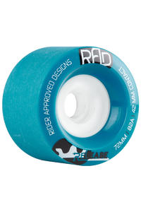 R.A.D. Release 72mm 82A Rollen (blue) 4er Pack