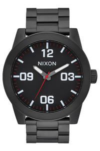Nixon The Corporal SS Orologio (all black white)
