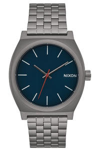 Nixon The Time Teller Uhr (all gunmetal dark blue)