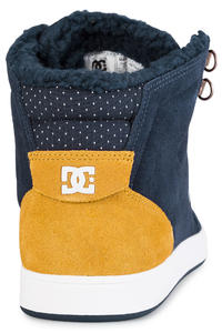 DC Crisis High WNT Shoes (navy gold)