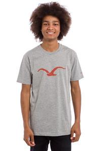 Cleptomanicx Möwe T-Shirt (heather grey roobios)