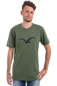 Cleptomanicx Möwe T-shirt (heather dark olive)