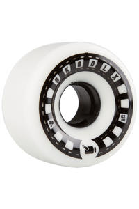 SK8DLX VHX Cruiser Series 62mm Wheels (white black) 4 Pack