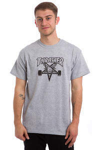 Thrasher Skate-Goat T-Shirt (heather grey)