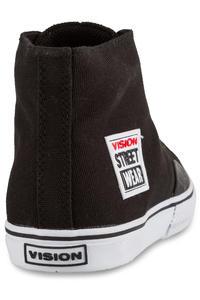 Vision Streetwear Canvas Hi 22 Shoe (black white)