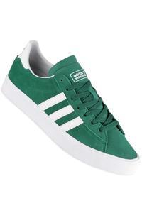 adidas Skateboarding Campus Vulc II ADV  Shoe (green white white)