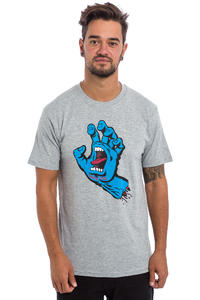Santa Cruz Screaming Hand T-Shirt (dark heather)