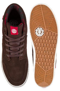 Element Topaz C3 Mid Suede Shoes (walnut)