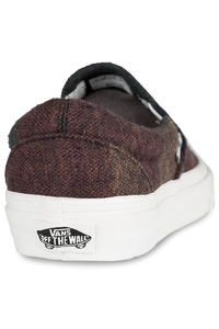 Vans Classic Slip-On Zapatilla women (wool stripes multi blanc)