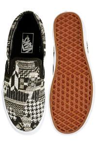 Vans Classic Slip-On Shoes women (italian weave white black)