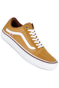Vans Old Skool Pro Shoe (amber white)