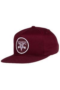 Thrasher Skate Goat Snapback Cap (maroon)