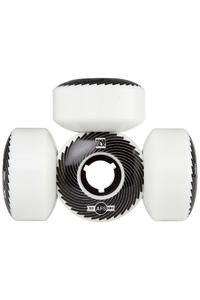 SK8DLX AFS Turbo Series 52mm Roue (white black) 4 Pack