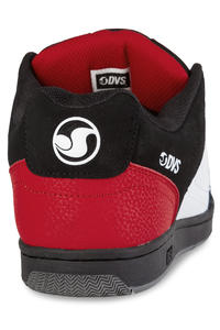 DVS Discord Shoes (black white red)