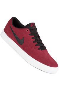 Nike SB Check Solarsoft Shoe (team red black)