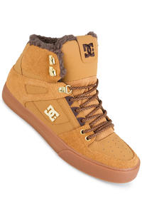 DC Spartan High WC WNT Shoe (wheat dark chocolate)