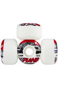 Plan B Team Racer 52mm Roue (white) 4 Pack