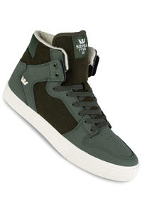 Supra Vaider Shoes (dark olive white)