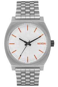 Nixon x Star Wars BB-8 The Time Teller Watch (silver orange)