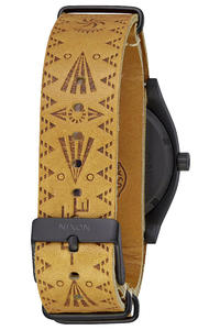 Nixon The Time Teller Taka Hayashi Orologio (black tan taka)