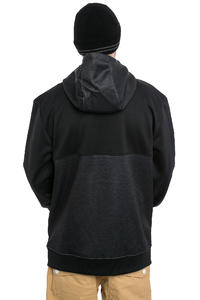 Neff Flint Shredder Snow Zip-Hoodie (black)