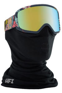 Anon Deringer MFI Goggles women (tiki gold chrome) incl. Facemask