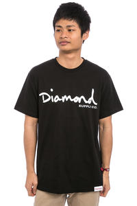 Diamond OG Script T-Shirt (black)