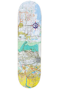 """Magenta x Antoine Rivière Guest Map 8.375"""" Deck (multi)"""