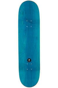 "Magenta Team Wood 8.5"" Deck (white)"