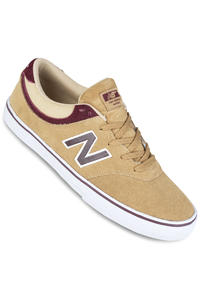 New Balance Numeric Quincy Suede Shoe (dust supernova red)