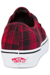 Vans Authentic Zapatilla women (plaid flannel racing red true wh)
