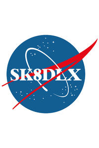 skatedeluxe Outer Space Sticker