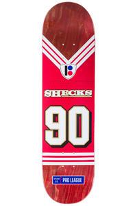"""Plan B Sheckler Super Roll Pro Spec 8"""" Deck (red)"""