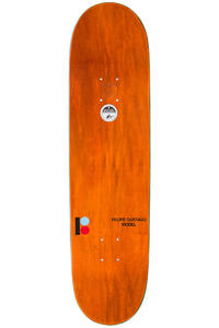 "Plan B Gustavo Royalty BLK ICE 8.25"" Deck (white)"