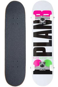 "Plan B Team OG Neon 7.75"" Complete-Board (white)"
