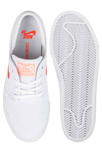 a9fe09d18650 Nike SB Zoom Janoski Canvas Capsule Shoe women (white max orange) buy at  skatedeluxe