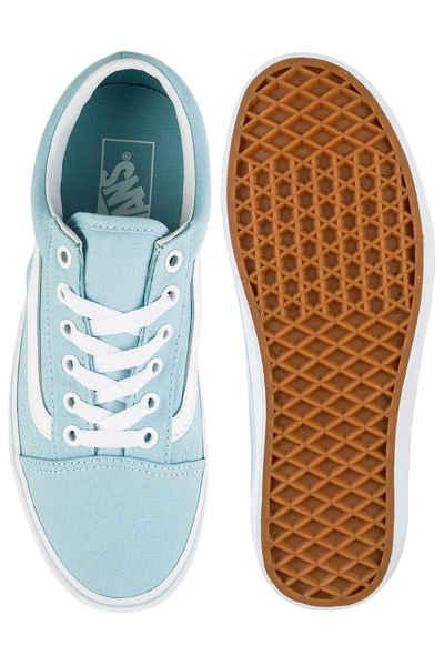 7a4f0643e5 Vans Old Skool Shoes women (crystal blue true white) buy at skatedeluxe
